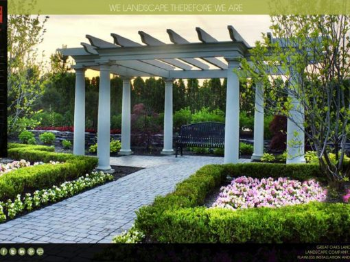 Website Design – Landscape Design Company