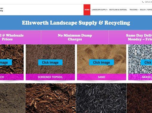 Responsive Design Website – Landscape Supply Company